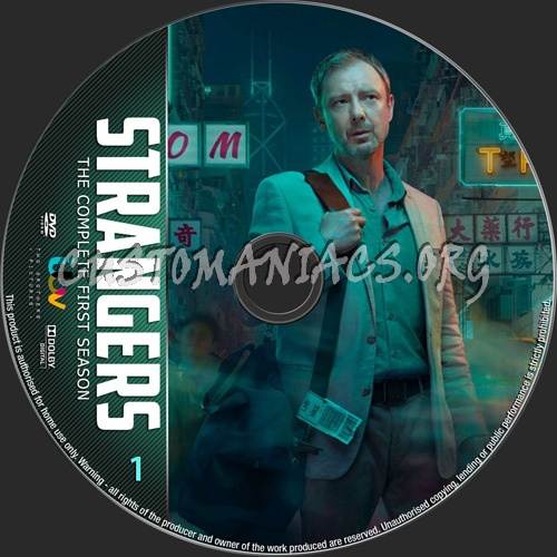 Strangers Season 1 dvd label