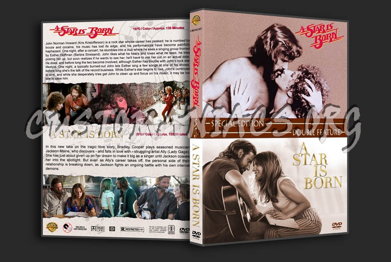 A Star is Born Double Feature dvd cover