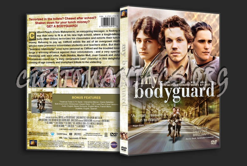 My Bodyguard dvd cover