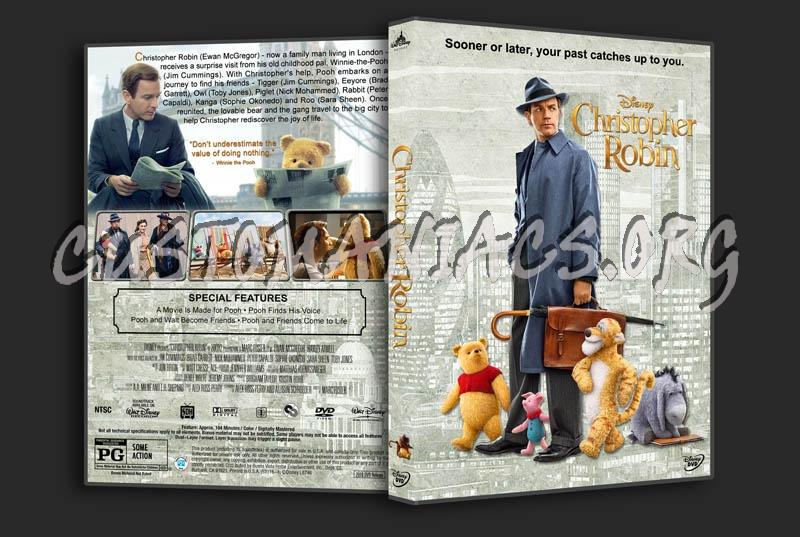 Christopher Robin dvd cover