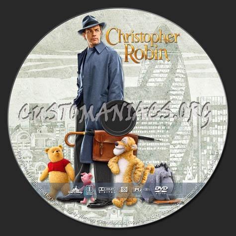 Christopher Robin dvd label