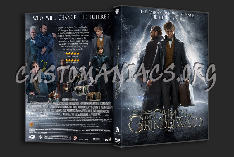 Fantastic Beasts The Crimes Of Grindelwald dvd cover
