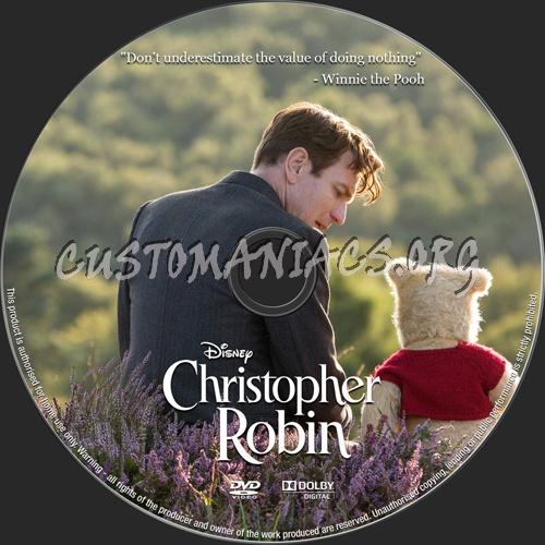 Christopher Robin (2018) dvd label