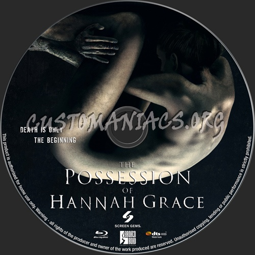 The Possession Of Hannah Grace blu-ray label