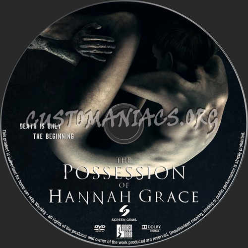 The Possession Of Hannah Grace dvd label