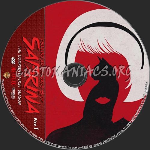 Chilling Adventures Of Sabrina Season 1 dvd label