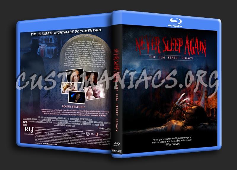 Never Sleep Again: The Elm Street Legacy (Nightmare On Elm Street Documentary) dvd cover