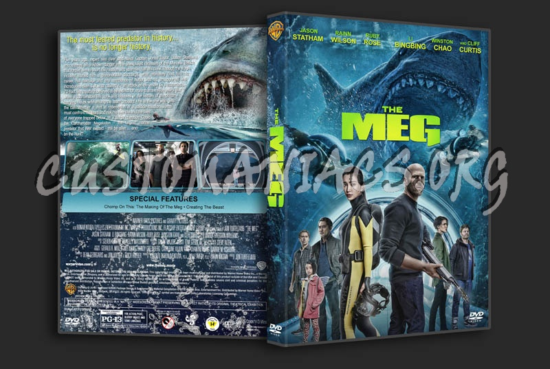 The Meg Dvd Cover Dvd Covers Labels By Customaniacs Id 254550