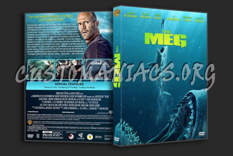 The Meg dvd cover