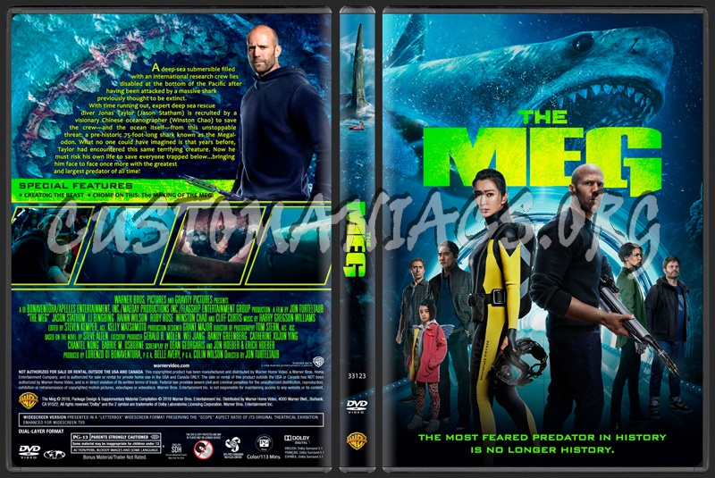 The Meg Dvd Cover Dvd Covers Labels By Customaniacs Id 254556