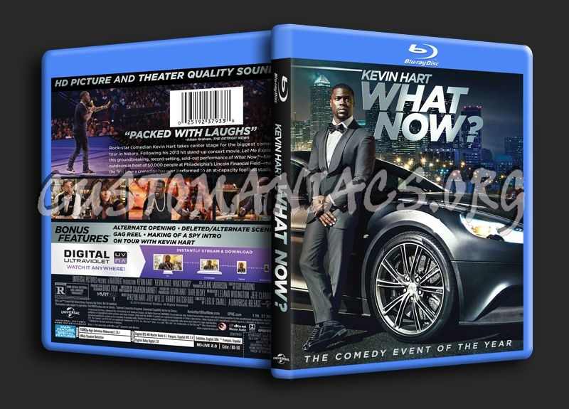 Kevin Hart What Now blu-ray cover