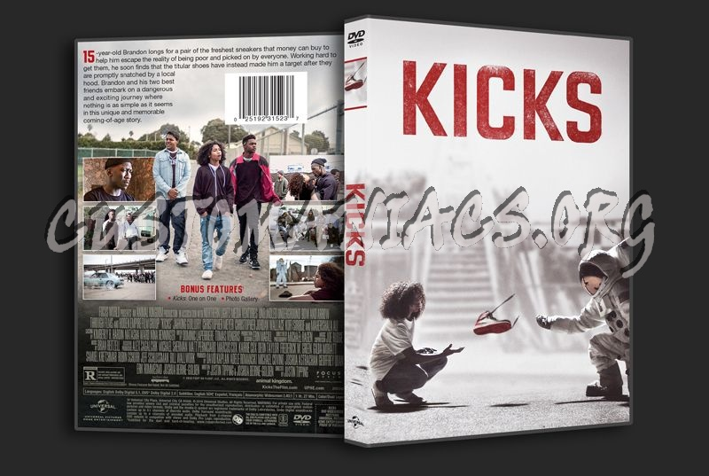 Kicks dvd cover