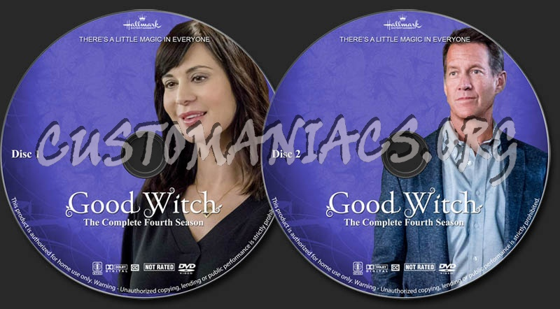 Good Witch - Season 4 dvd label - DVD Covers & Labels by