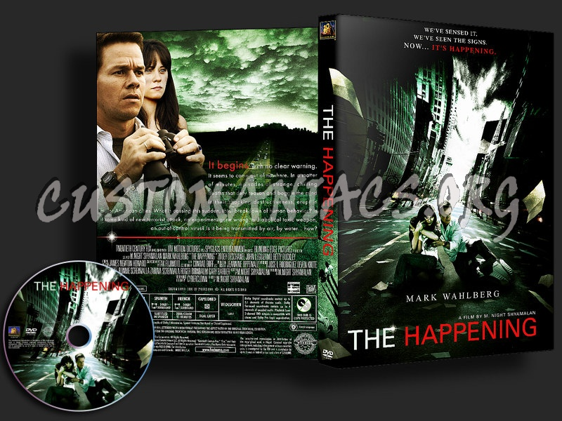 The Happening dvd cover