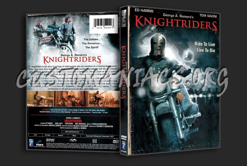Knightriders dvd cover