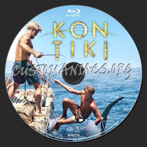 Kon Tiki blu-ray label
