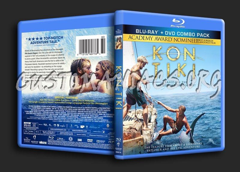 Kon Tiki blu-ray cover