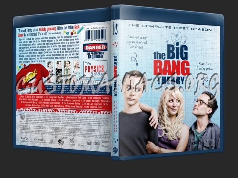 The Big Bang Theory Season 1 2 3 4 5 6 7 8 9 10 11 blu-ray cover