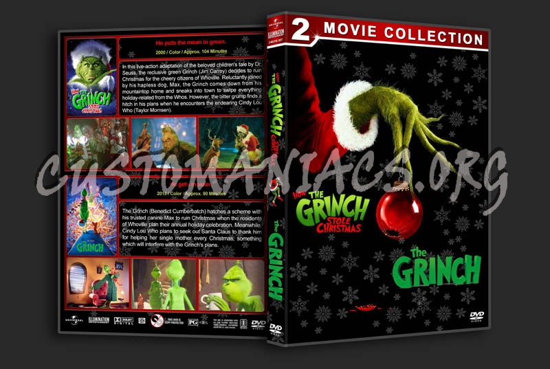 The Grinch Double Feature dvd cover