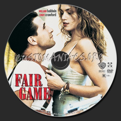 Fair Game (1995) dvd label