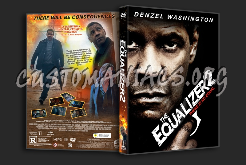 The Equalizer 2 dvd cover