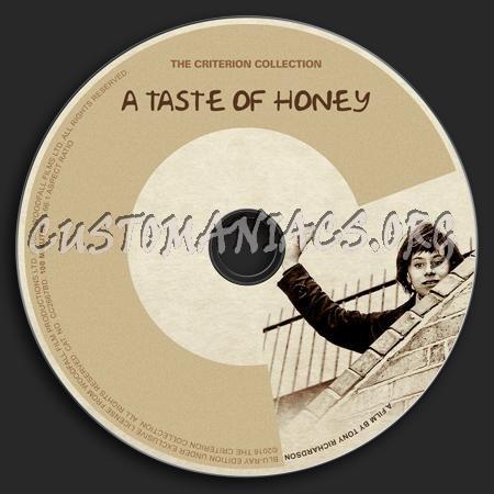 829 - A Taste of Honey dvd label