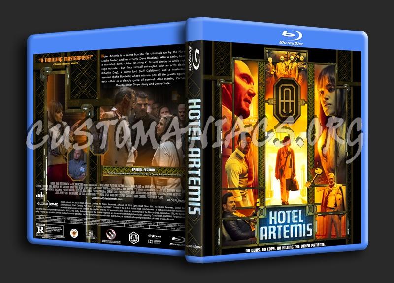 Hotel Artemis blu-ray cover