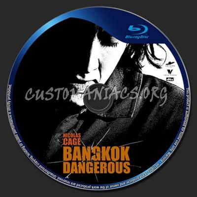 Bangkok Dangerous blu-ray label