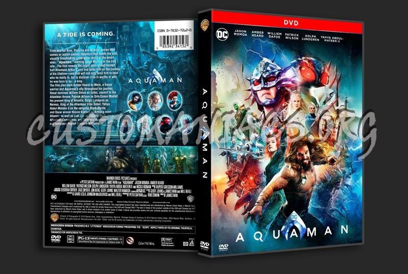 Aquaman dvd cover