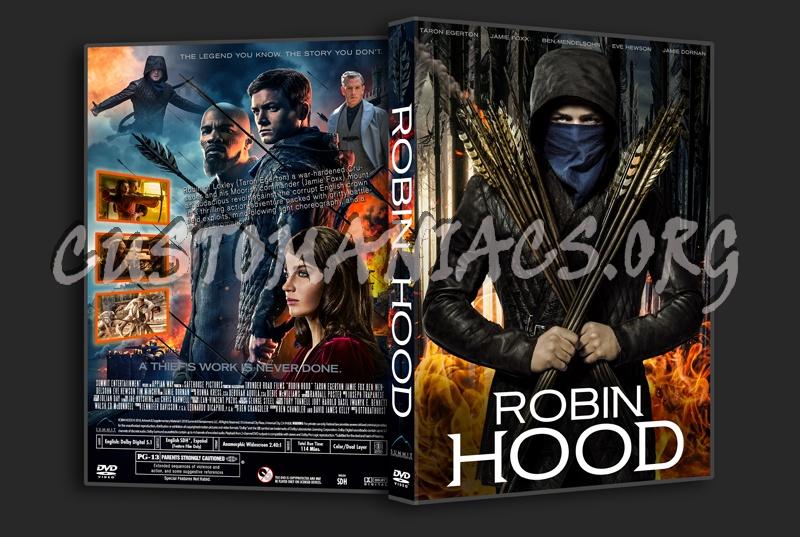 Robin Hood (2018) dvd cover