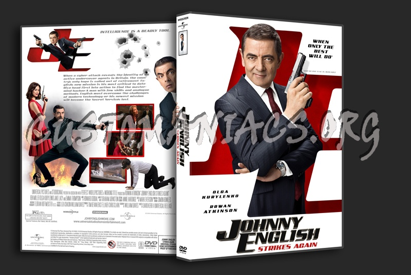 Johnny English Strikes Again dvd cover