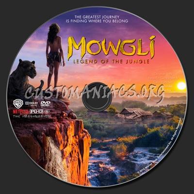 Mowgli: Legend Of The Jungle dvd label