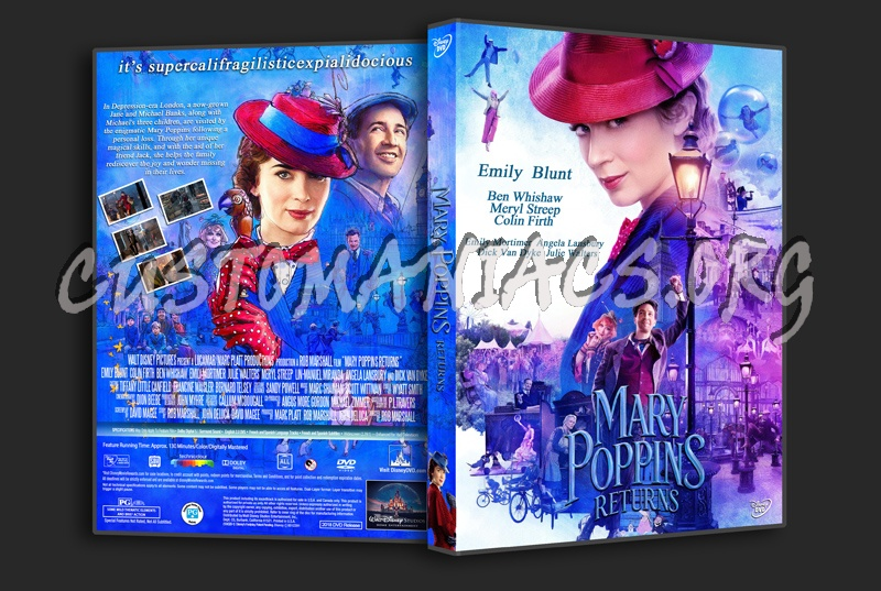 Mary Poppins Returns dvd cover