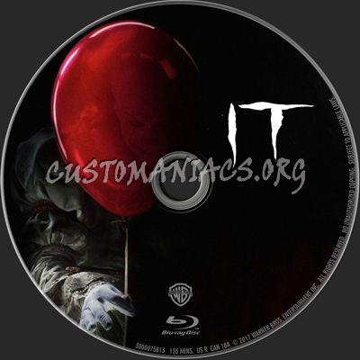 It (2017) blu-ray label