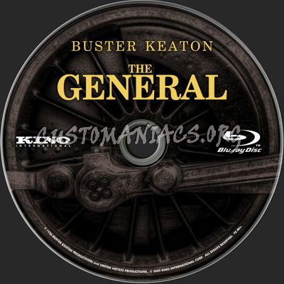 The General blu-ray label