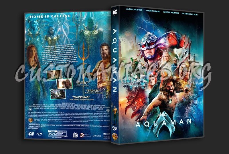 Aquaman (2018) dvd cover