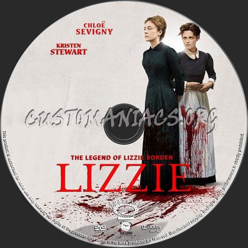 Lizzie dvd label