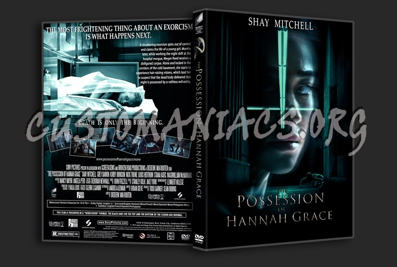 The Possession Of Hannah Grace dvd cover
