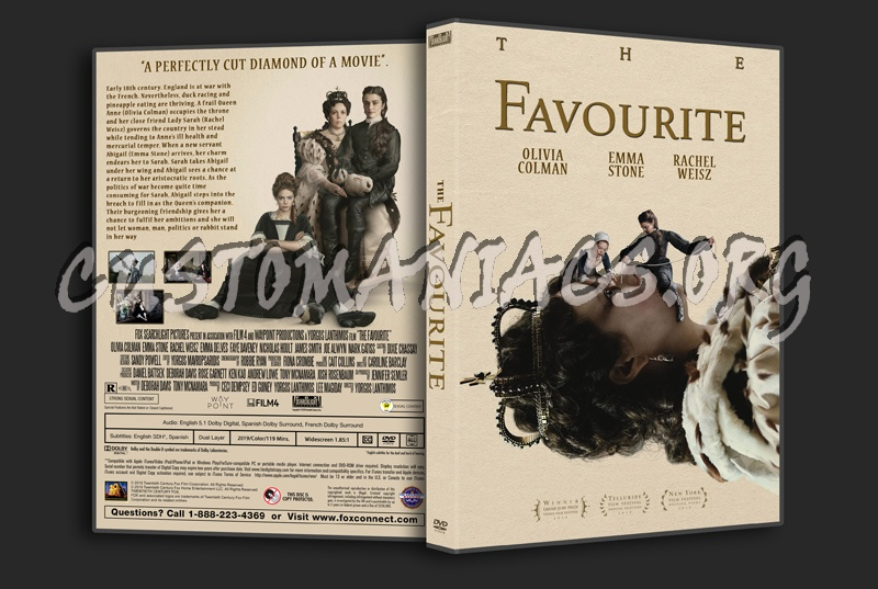The Favourite dvd cover