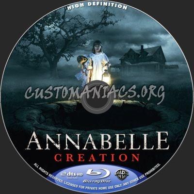 Annabelle Creation blu-ray label