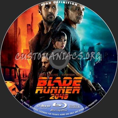 Blade Runner 2049 blu-ray label