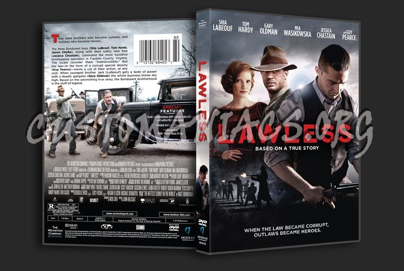 Lawless dvd cover