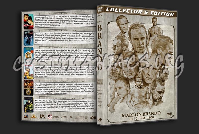 Marlon Brando Filmography - Set 2 (1954-1960) dvd cover