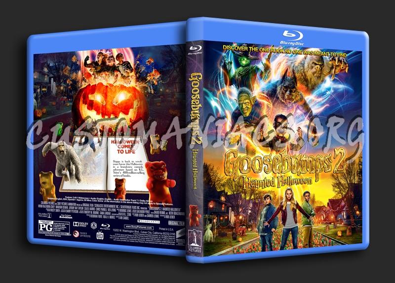 Goosebumps 2: Haunted Halloween blu-ray cover