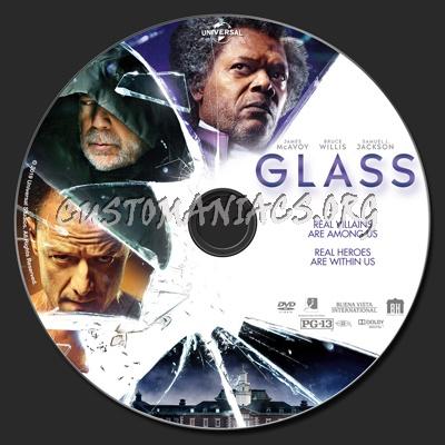 Glass dvd label