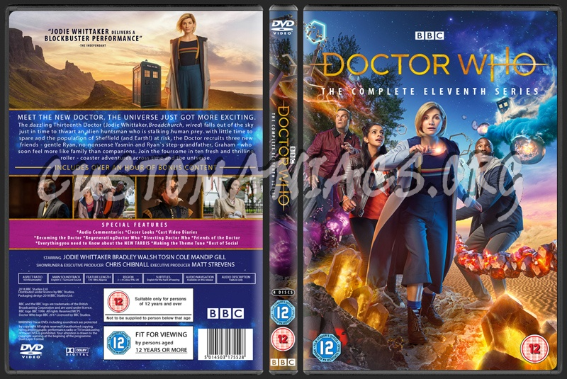 Doctor Who Series 11 Dvd Cover Dvd Covers Labels By Customaniacs Id 255241 Free Download Highres Dvd Cover