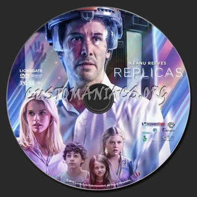 Replicas dvd label
