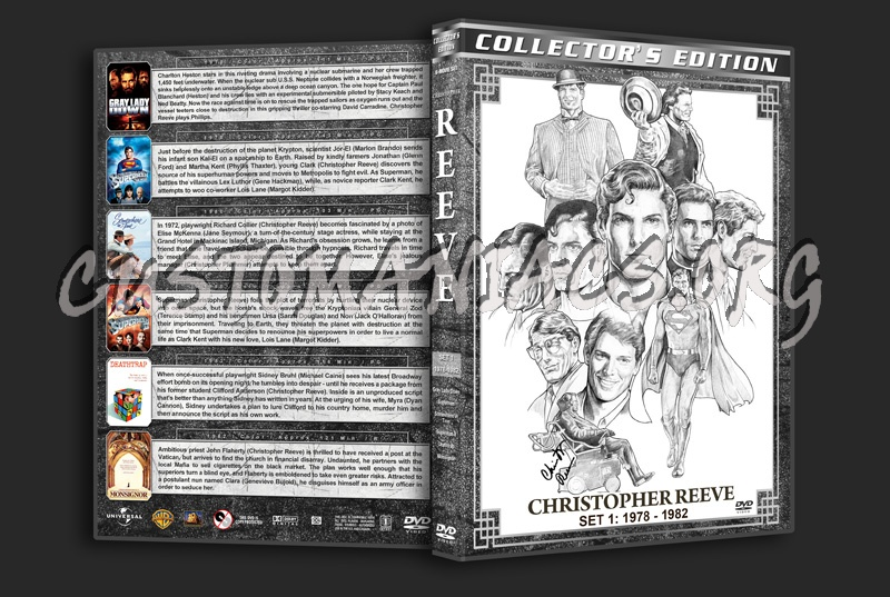 Christopher Reeve Filmography - Set 1 (1978-1982) dvd cover