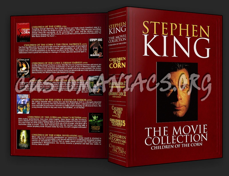 Stephen King Children Of The Corn Collection dvd cover