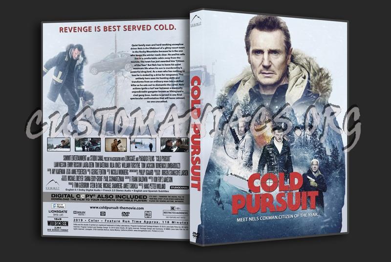 Cold Pursuit dvd cover